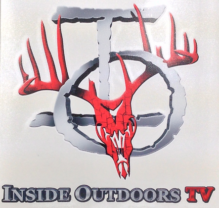 "RED IOTV DECAL  6""x 6"""