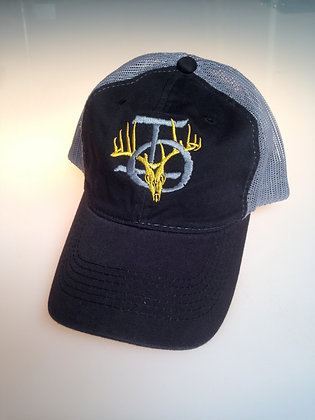 BLACK/GRAY MESH HAT