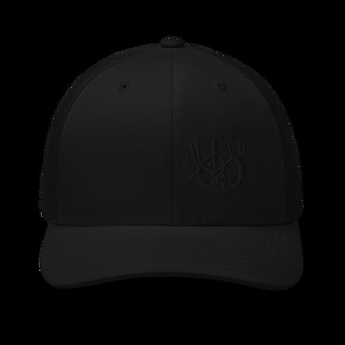 IOTV Blackout Hat With Raised Logo