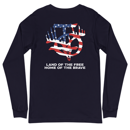 IOTV American Flag Unisex Long Sleeve