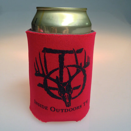 RED IOTV KOOZIE