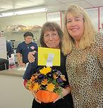 Cindy Kunz and Jeanne Mann