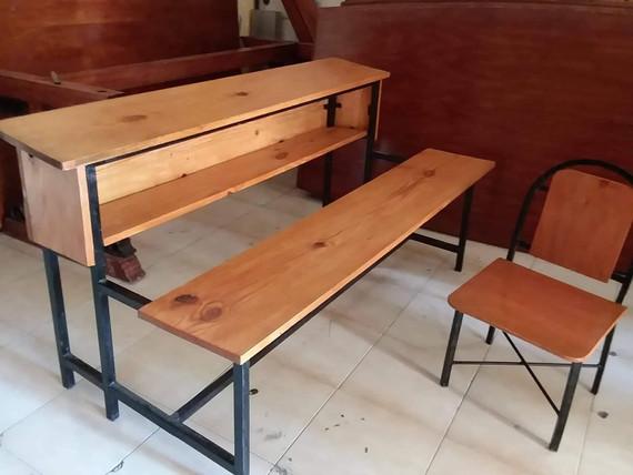 Desk & Bench
