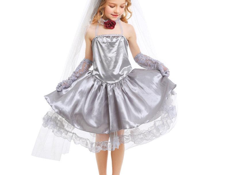 Rosie Ghost Bride Costume For Girls