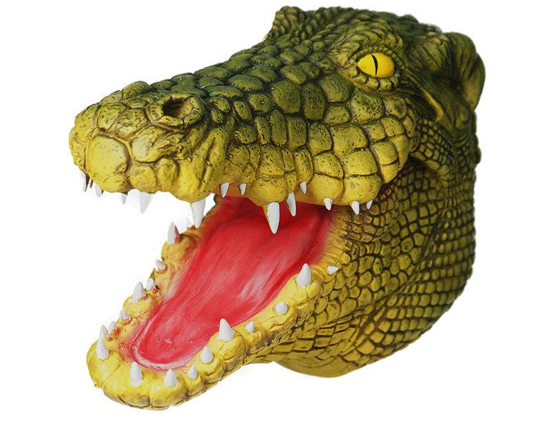 Crocodile Latex Animal Head Mask