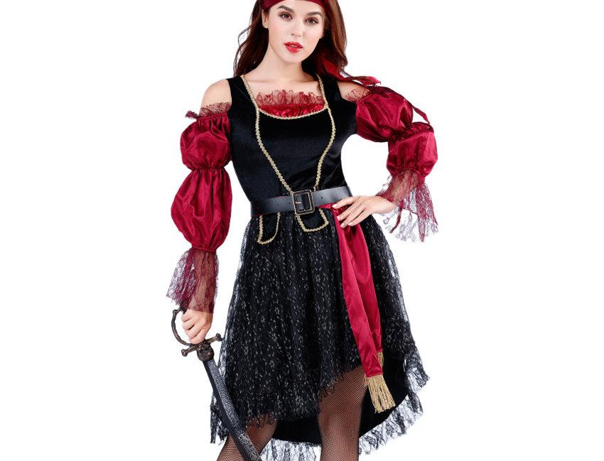 Daredevil Pirate Costume For Women