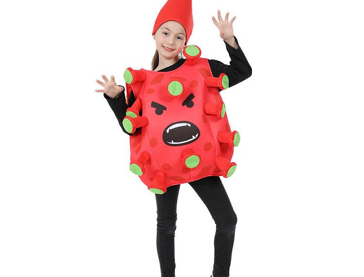 VIRUS ATTACK! Kids Unisex Costume