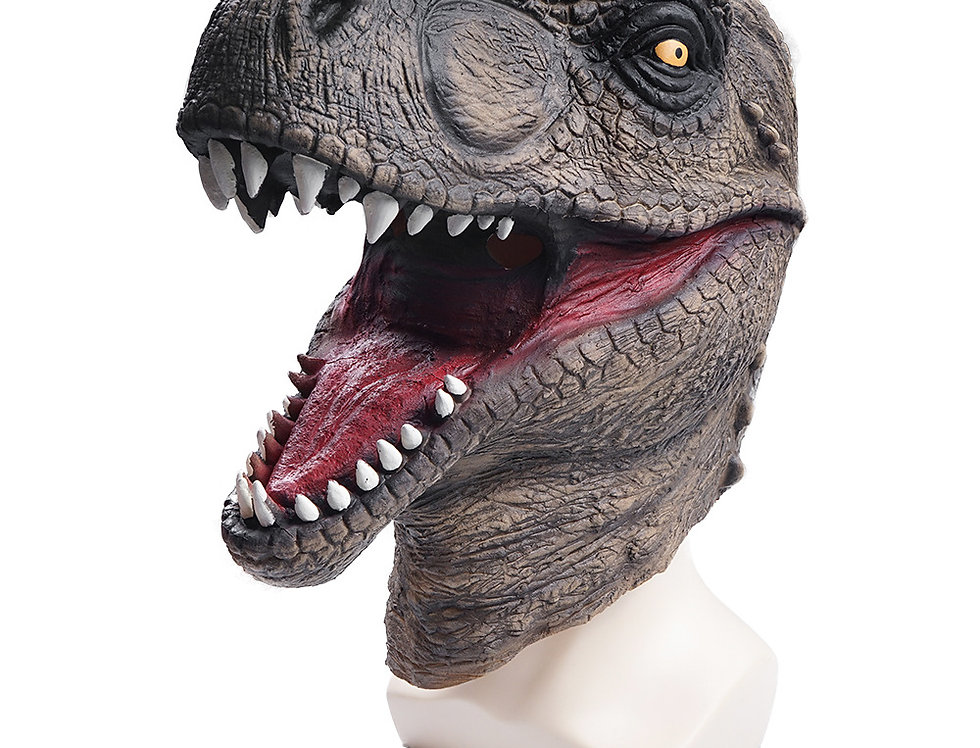Dinosaur Latex Animal Head Mask