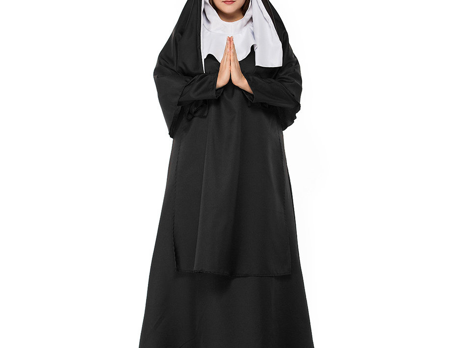 Classic Nun Costume For Women - Plus Size