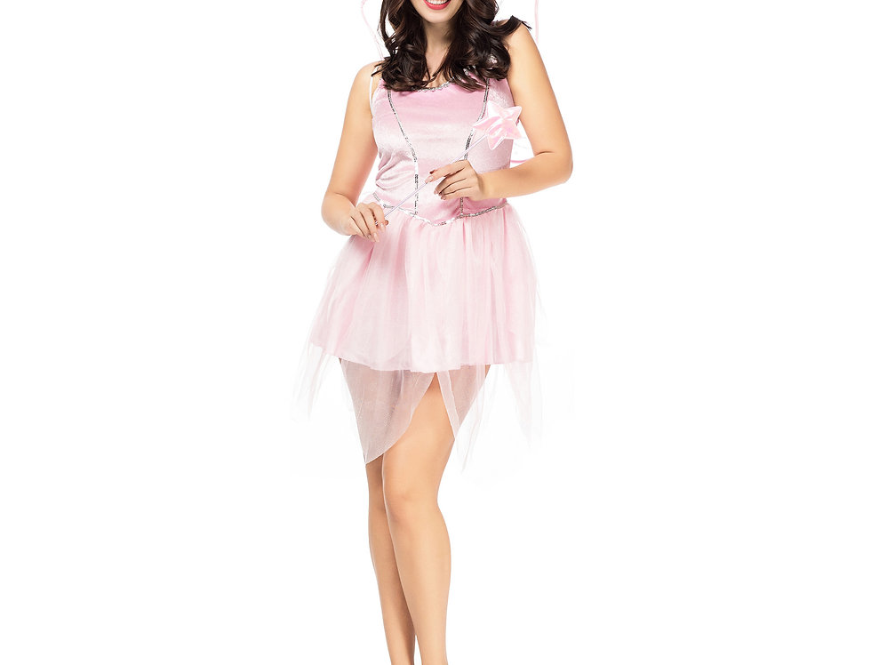 Pinky Butterfly Fairy Costume For Women