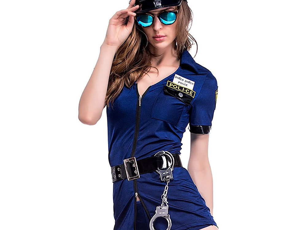 Sassy Cop Costume For Women