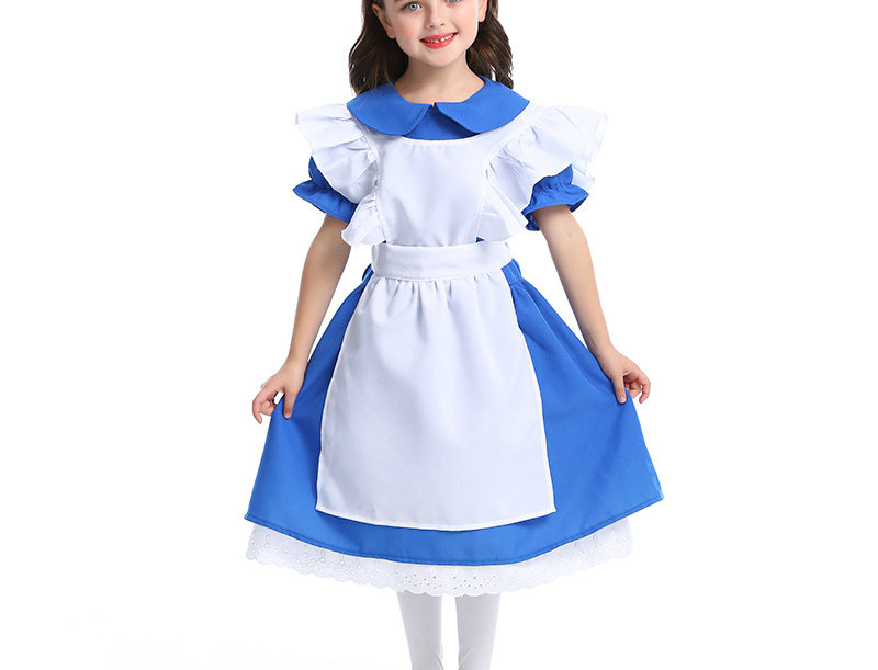 Classic Alice Costume For Girls