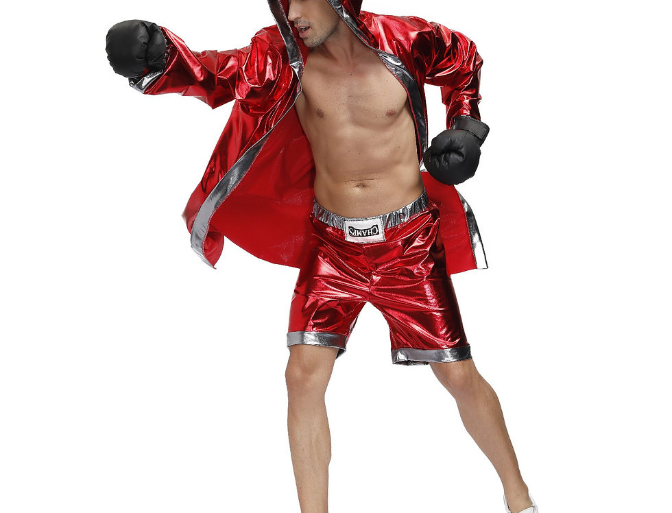 Fiery Boxer Costume For Men