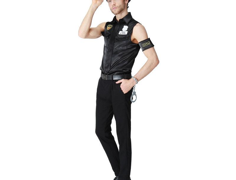 Hot Police Officer Costume For Men