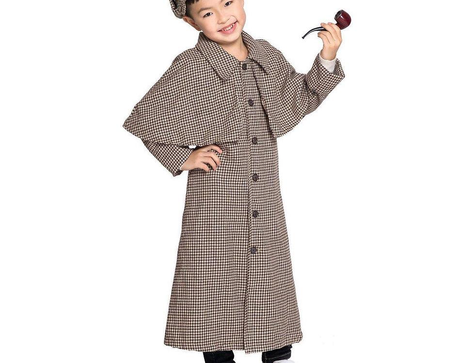 Sherlock The Legendary Detective Kids Unisex Costume