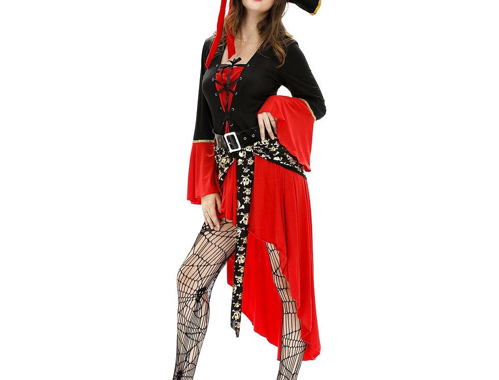 Pirate Captain Costume For Women
