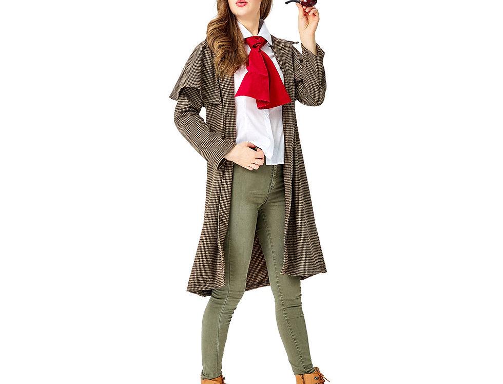 Sherlock The Legendary Detective Costume For Women