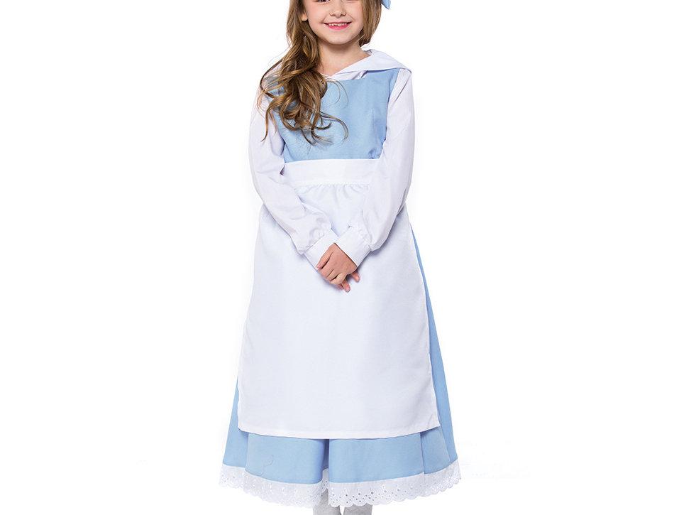 Classic Village Belle Costume For Girls