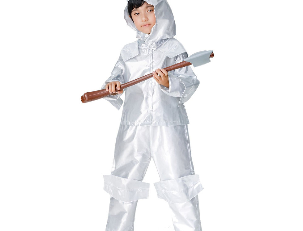 Classic Tin Woodman Costume For Boys
