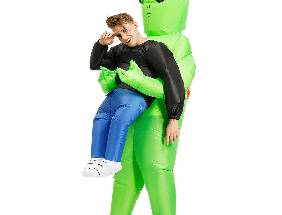 Alien Abduction Adult Inflatable Ride-On Costume