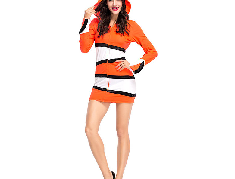 Nemo The Tropical Clown Fish Costume For Women