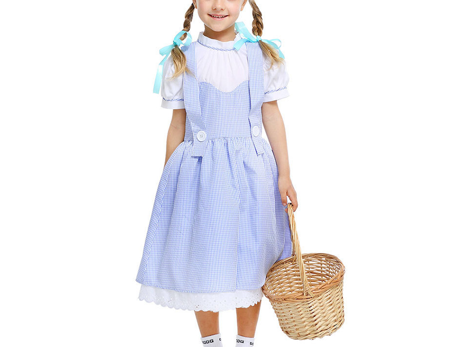 Classic Dorothy Costume For Girls