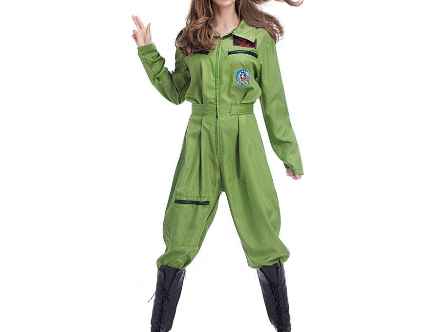 Elite Army Pilot Costume For Women