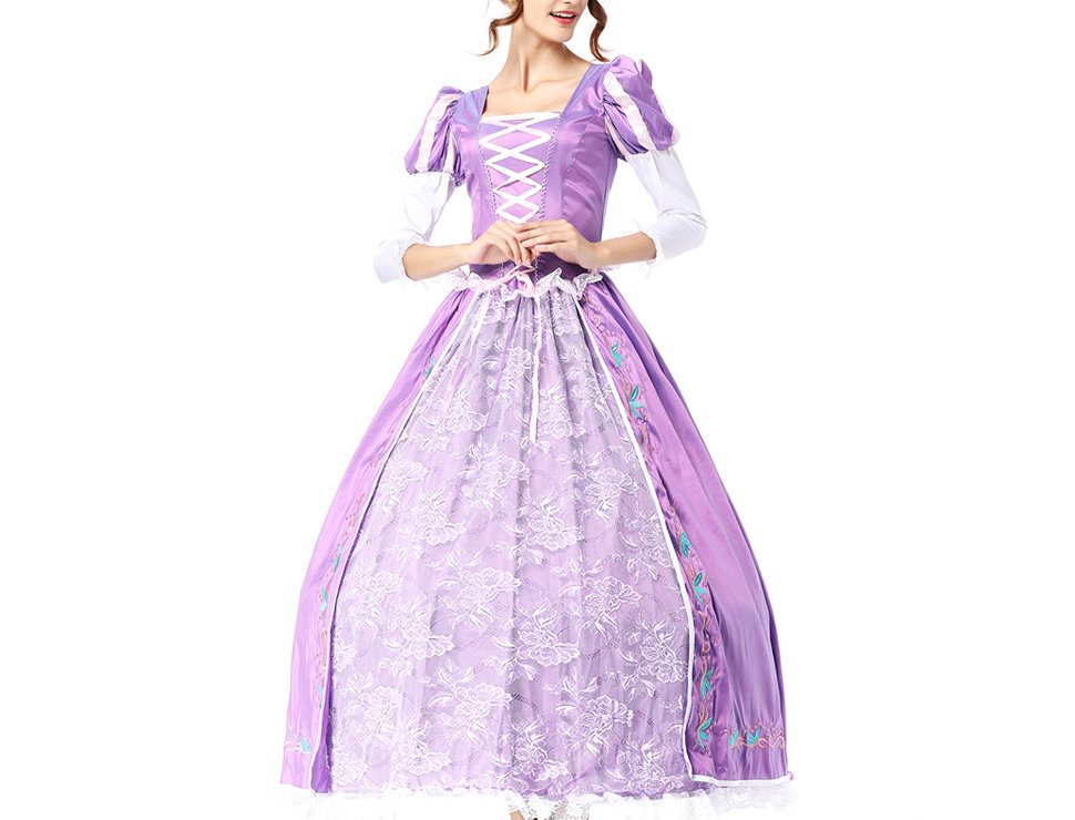Princess Rapunzel Costume For Women - Prestige Edition