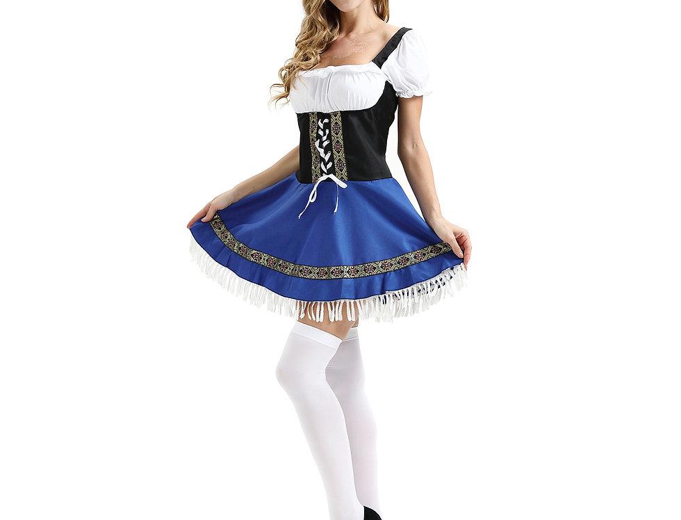 Traditional Bavarian Oktoberfest Costume For Women