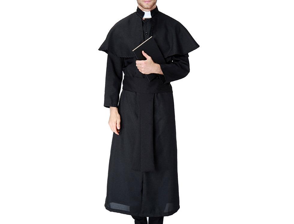 Classic Priest Costume For Men