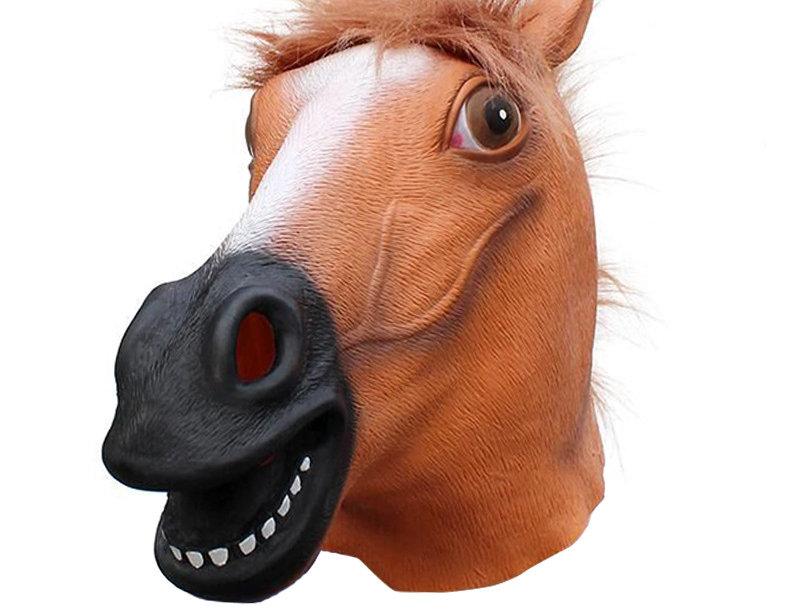 Horse Latex Animal Head Mask