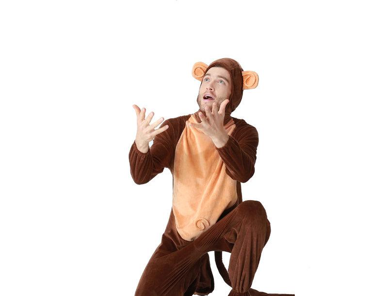Monkey Adult Unisex Costume