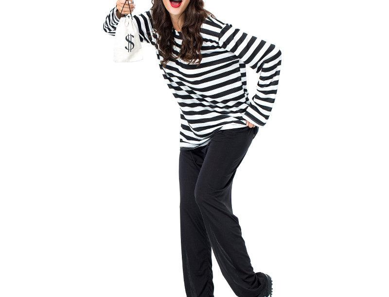 Uninvited Burglar Adult Unisex Costume