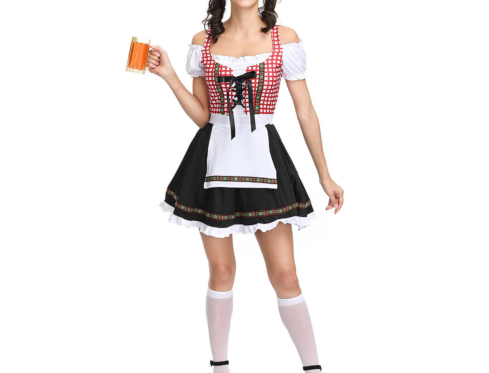 Beer Bar Maid Costume For Women