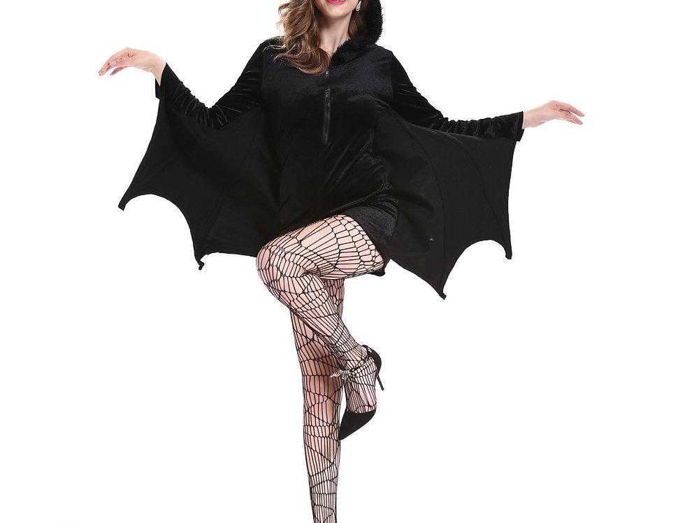 Fuzzy Bat Costume For Women