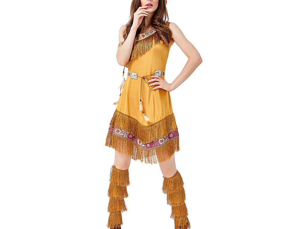 Native American Indian Maiden Costume For Women