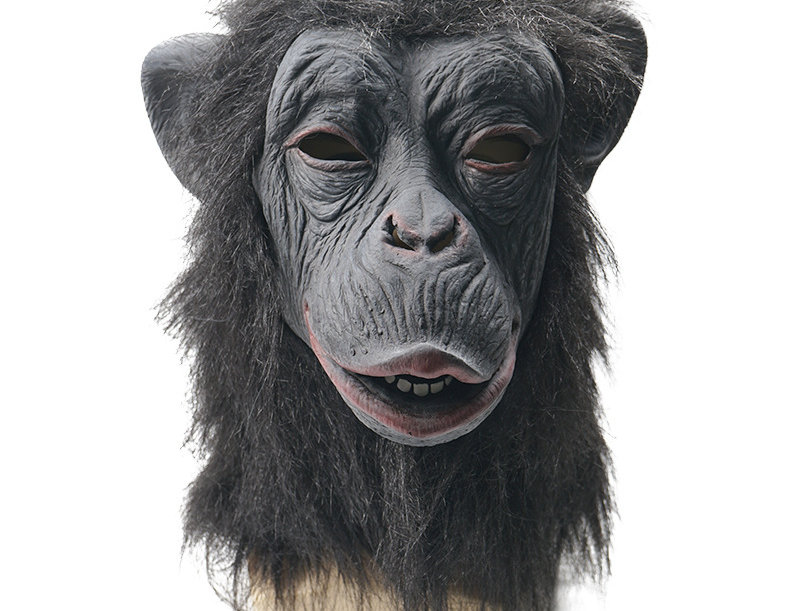 Gorilla Latex Animal Head Mask
