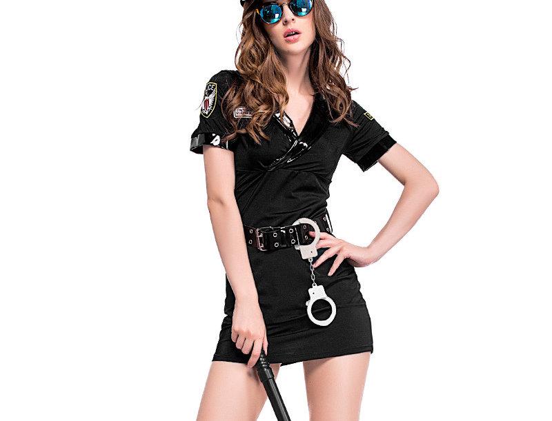 Hot Police Officer Costume For Women