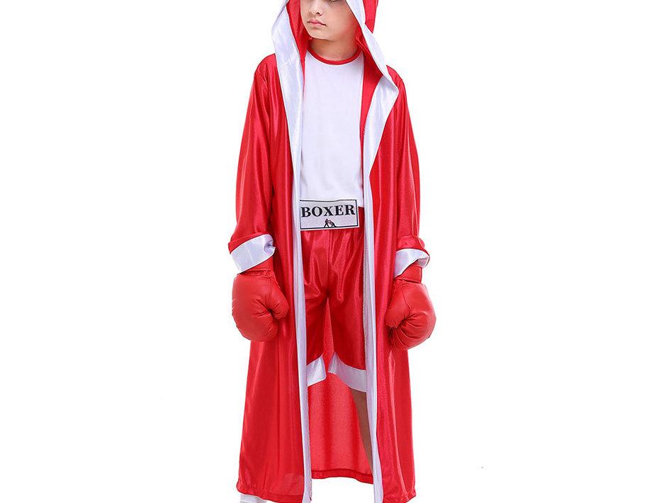 Unbeatable Boxer Costume For Boys