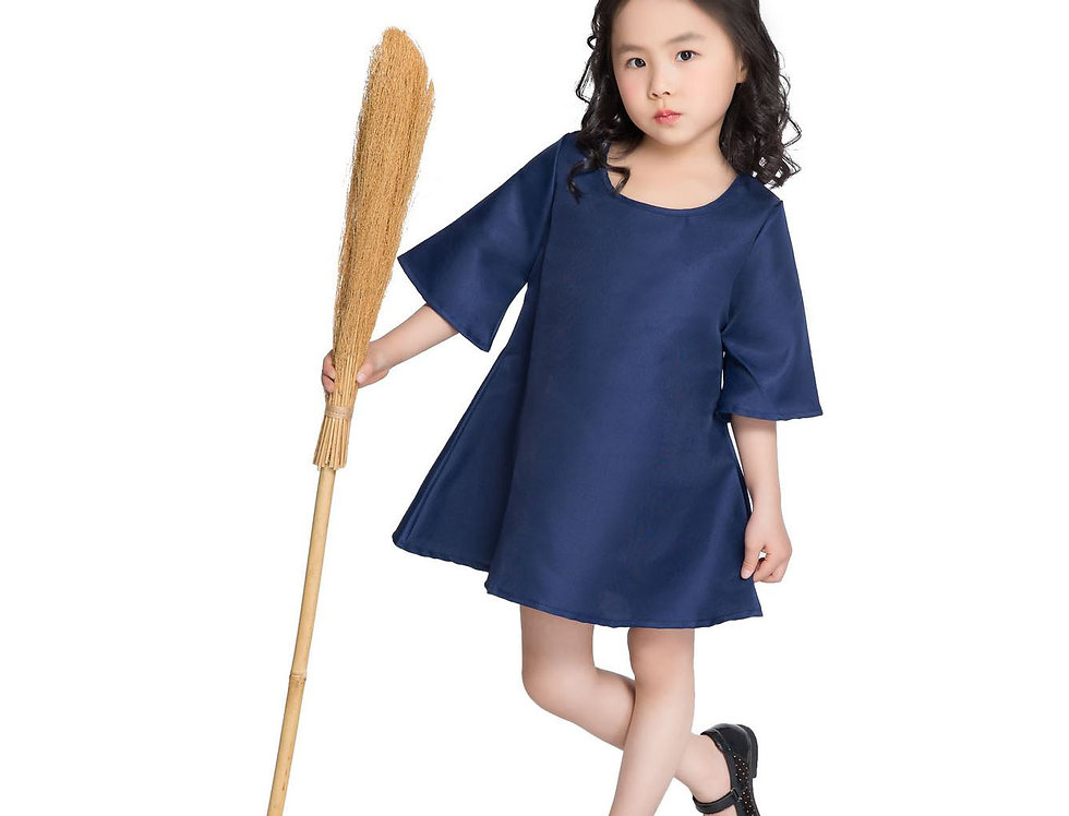 Classic Majo Kiki Costume For Girls