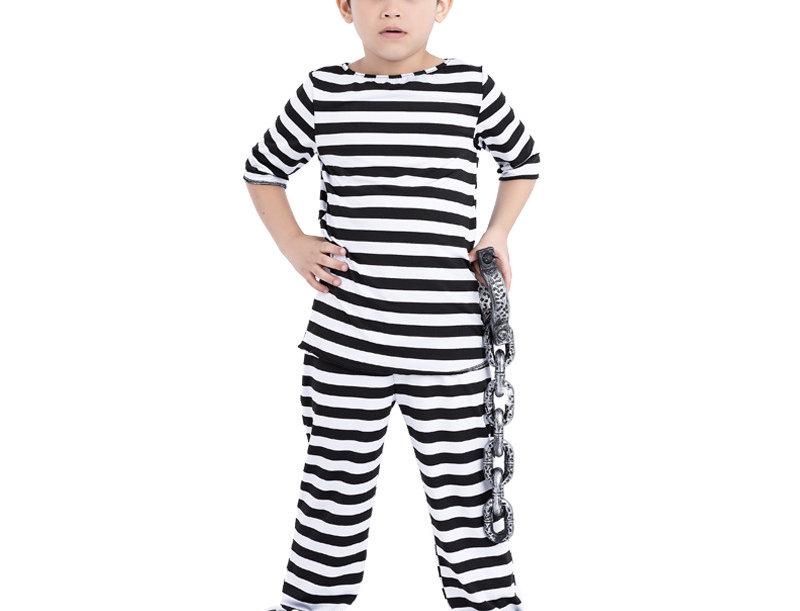 Lawbreaker Prisoner Kids Unisex Costume