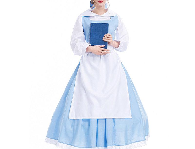 Classic Village Belle Costume For Women
