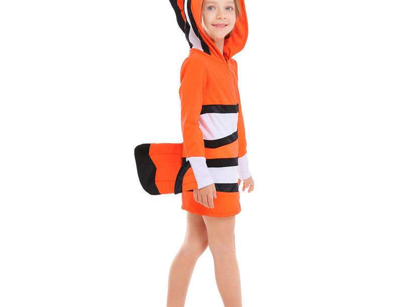 Nemo The Tropical Clown Fish Costume For Girls