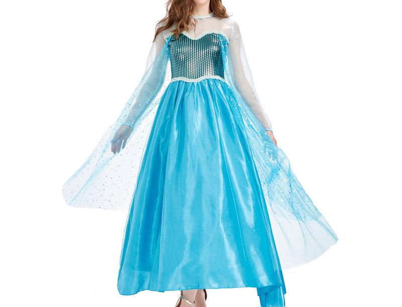 Iceborn Snow Queen Costume For Women