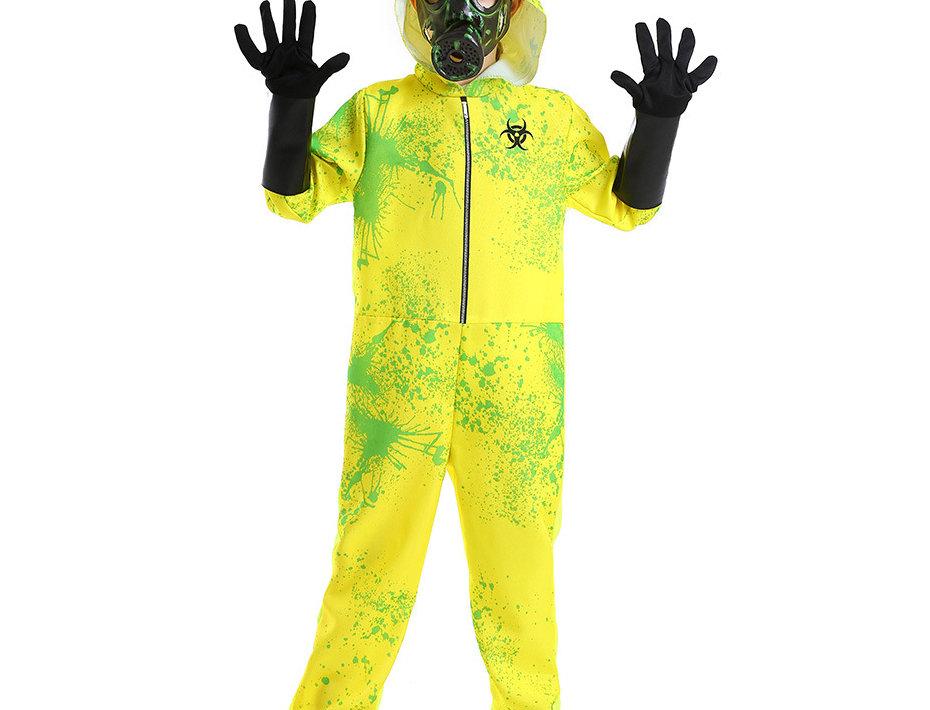 Biohazard Outbreak Response Team Kids Unisex Costume