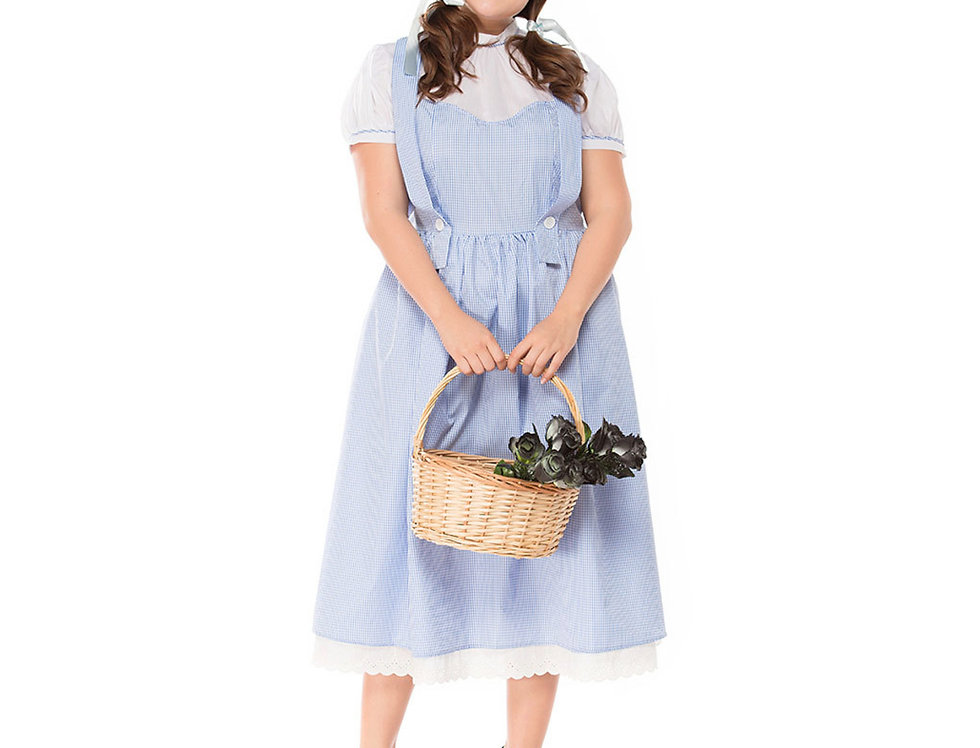 Classic Dorothy Costume For Women - Plus Size