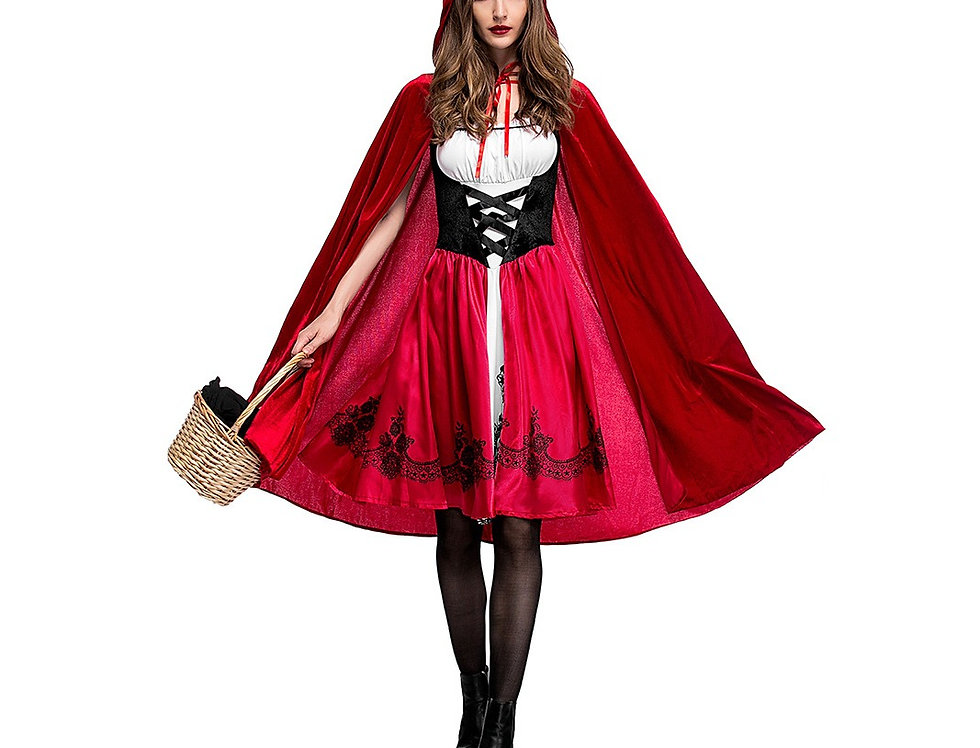 Classic Little Red Riding Hood Costume For Women