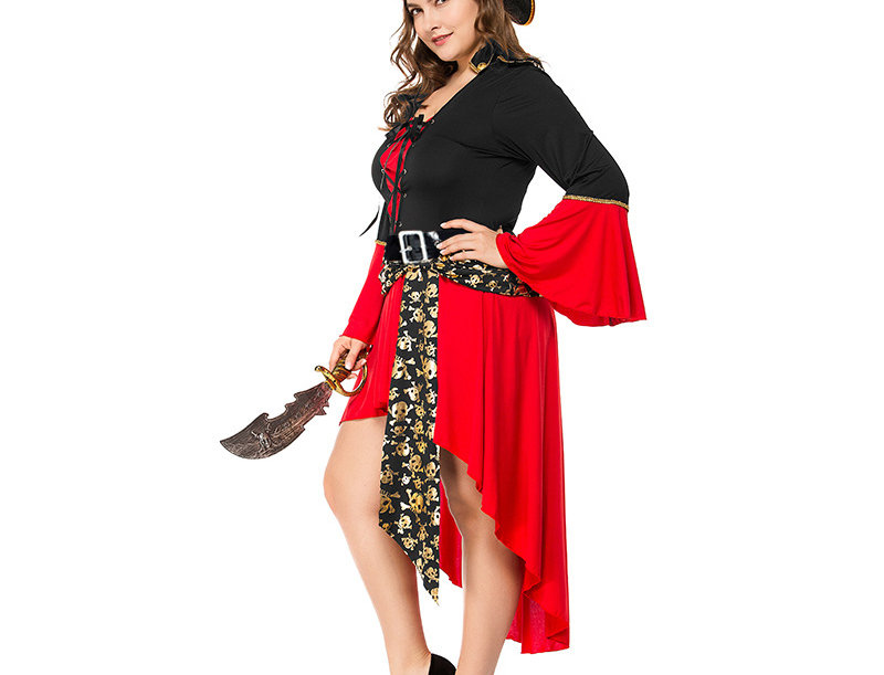 Pirate Captain Costume For Women - Plus Size