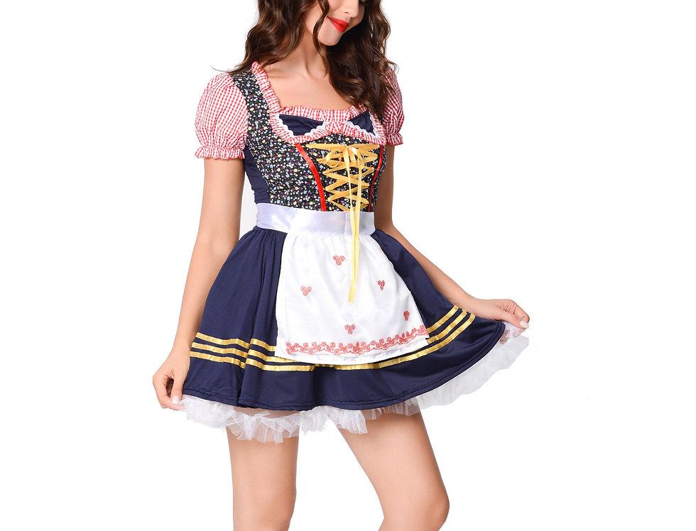 Bavarian Babe Oktoberfest Costume For Women