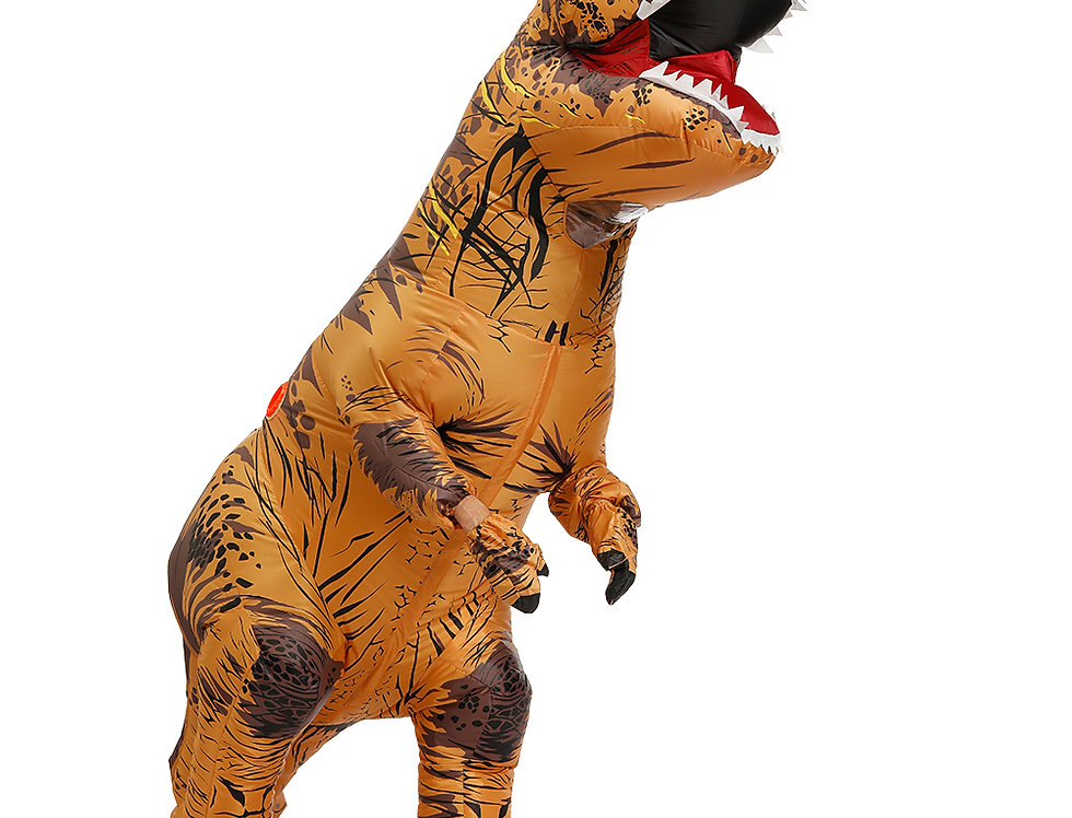 Jurassic T-Rex Dinosaur Adult Inflatable Costume